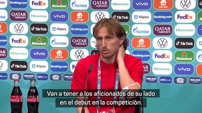 """Luka Modric: """"La arrogancia no sale de los jugadores, sino de los periodistas o la gente que rodea al equipo inglés"""""""