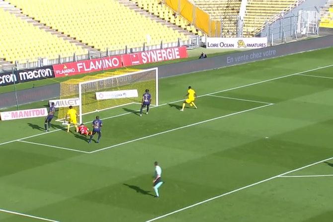 Résumé Nantes 3-1 Brest 2019