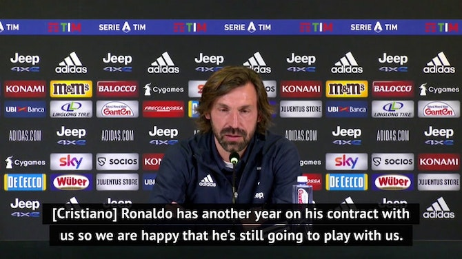 Preview image for Juventus to decide Ronaldo's future at end of the season - Pirlo