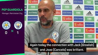 Preview image for Bernardo earns Guardiola praise after summer transfer rumours