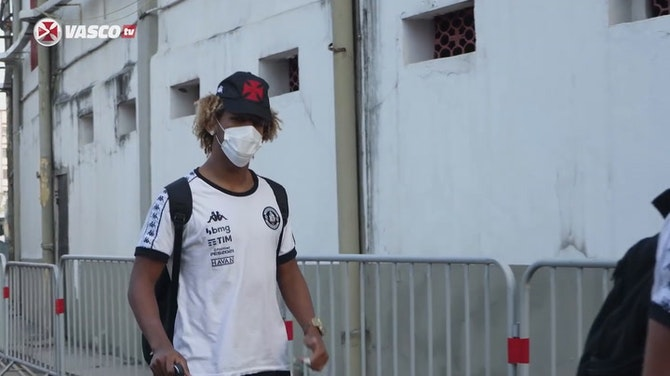 Preview image for Behind the scenes of Vasco's victory against Confiança