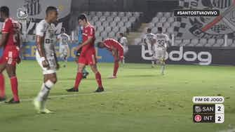 Preview image for Pirani and Madson secures a draw for Santos against Internacional