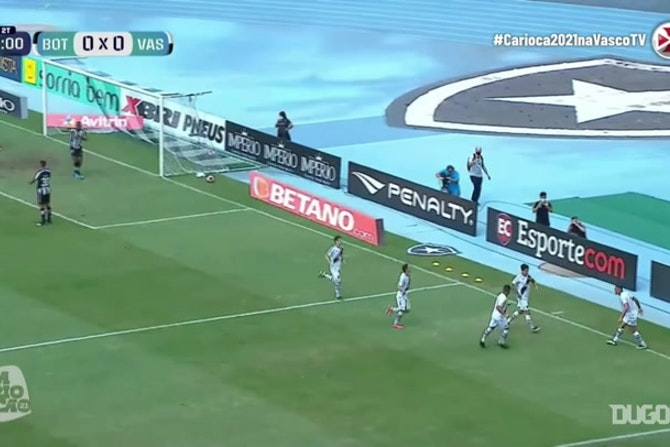 Germán Cano's goal against Botafogo