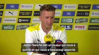"""Image d'aperçu pour Dortmund - Reus : """"Je suis heureux pour Sancho"""""""