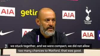 Preview image for Spurs being top doesn't meaning anything – Nuno