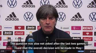 Preview image for Shock Germany defeat won't affect Euros squad selection - Loew