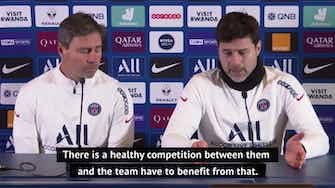 Preview image for Pochettino relishing competition between Icardi and Kean