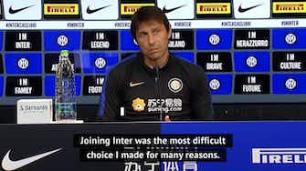 Preview image for Joining Inter my biggest challenge - Conte