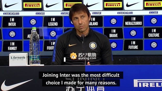 Joining Inter my biggest challenge - Conte