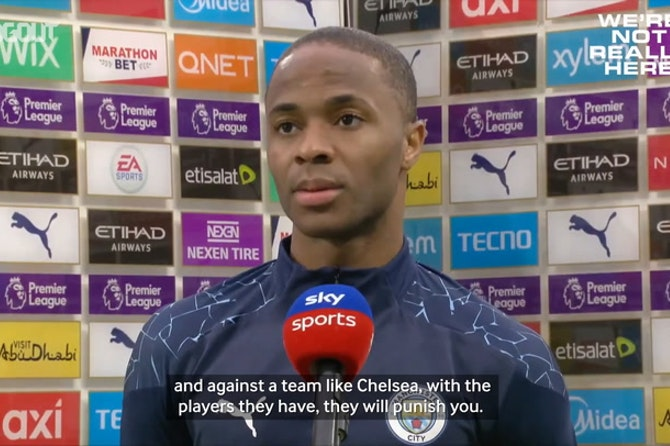 Raheem Sterling reflects on Chelsea defeat