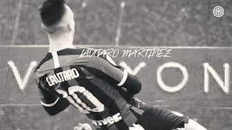 Anteprima immagine per Il meglio di Lautaro con l'Inter