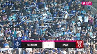 Vorschaubild für SV Waldhof Mannheim - Hallescher FC (Highlights)