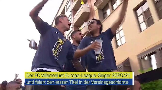Vorschaubild für Party in Villarreal! Gelbes U-Boot feiert EL-Titel