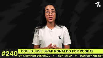Preview image for Could a Ronaldo and Pogba SWAP DEAL happen?!