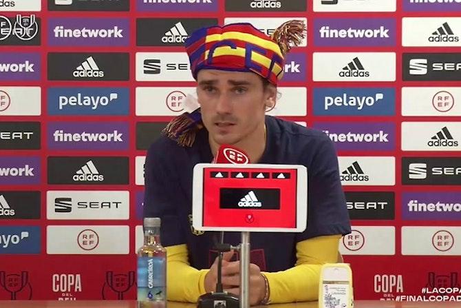 """Griezmann: """"Es mi primera Copa, así que la voy a disfrutar"""""""