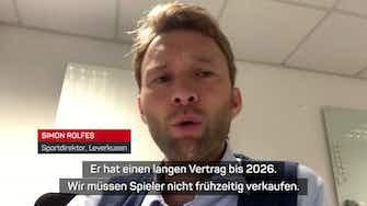 """Vorschaubild für Wirtz-Verkauf? Rolfes: """"Ist nicht unser Ziel"""""""
