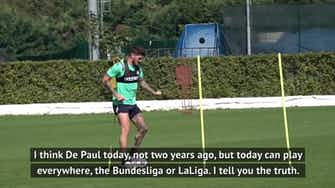 Preview image for What's next for Udinese's Rodrigo De Paul?
