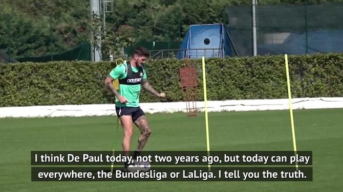 What's next for Udinese's Rodrigo De Paul?