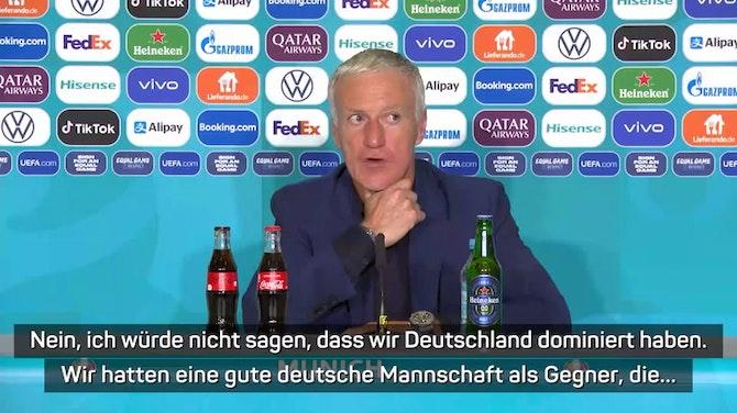 """Deschamps nach 1:0-Sieg: """"Zweikampf der Titanen"""""""