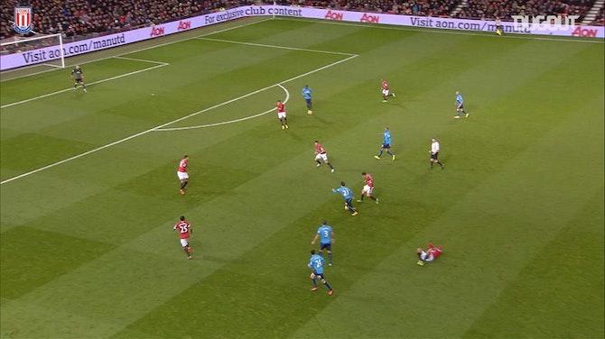 Steven Nzonzi's cannon vs Manchester United
