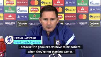Preview image for Lampard to hand Kepa rare Chelsea start