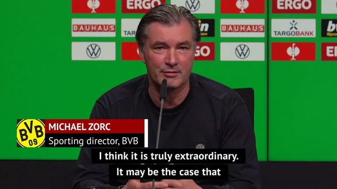 Zorc surprised by 'extraordinary' managerial situation in the Bundesliga
