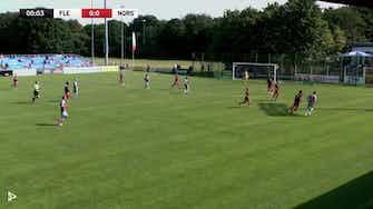 Vorschaubild für Flensburg bleibt souverän! | Highlights - SC Weiche Flensburg vs. FC Eintracht Norderstedt