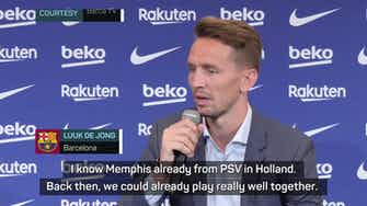 Preview image for Barca's Luuk de Jong hopes Dutch dynamic makes the difference