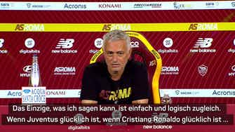 Vorschaubild für CR7 zu Man United? Mourinho: Das perfekte Geschäft
