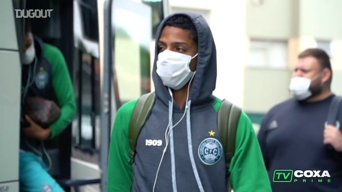 Preview image for Behind the scenes of Coritiba's victory vs Toledo