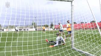 Preview image for Spain return to training after 4-0 victory over Georgia