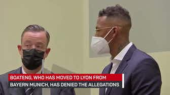 Preview image for Jerome Boateng appears in court in Munich