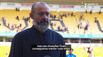 """Imagem de visualização para Nuno comemora vitória sobre Wolverhampton: """"Os meninos foram incríveis"""""""
