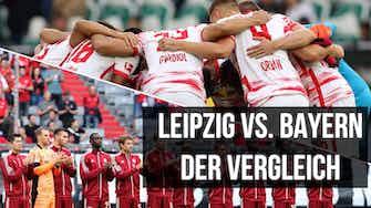 Vorschaubild für Der Teamvergleich: RB Leipzig gegen FC Bayern