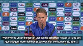 """Vorschaubild für De Boer: Sieg im EM-Finale ist """"unser Ziel"""""""