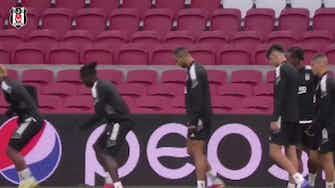 Preview image for Besiktas' final training session ahead of Ajax game in Champions League