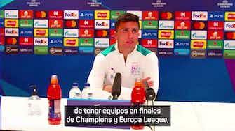 """Imagen de vista previa para Rodri: """"La Premier League es una pequeña Superliga"""""""