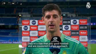 Preview image for Thibaut Courtois: 'We're disappointed to have taken just a point'