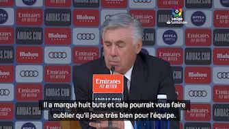 """Image d'aperçu pour 6e j. - Ancelotti : """"Benzema est complet"""""""