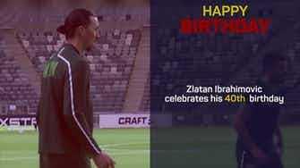 Preview image for IBR40 - Happy Birthday, Zlatan
