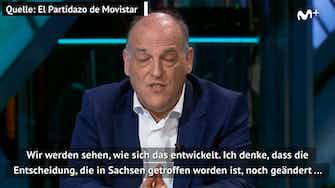 Vorschaubild für Fall Dresden? LaLiga-Präsident: Bei uns unmöglich
