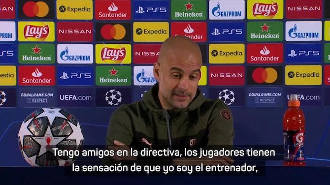 """Guardiola: """"El City me ha dado todo"""""""