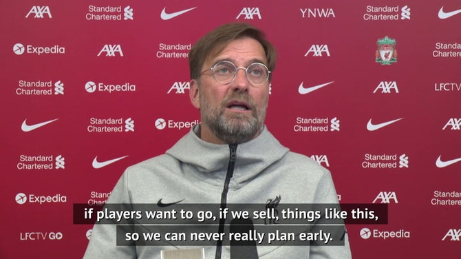 Preview image for Liverpool transfer pot looking bare for Klopp
