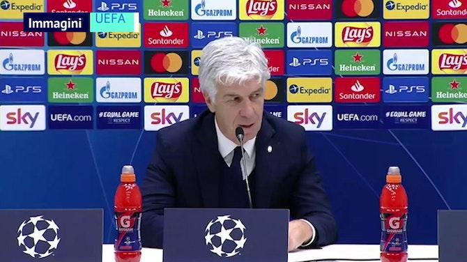 """Gasperini: """"Risultato che ci dà un vantaggio sull'Ajax"""""""