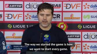 Preview image for Pochettino pleased as PSG go second at Dijon