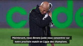 """Image d'aperçu pour 32e j. - Zidane : """"Nous allons nous battre jusqu'au bout"""""""