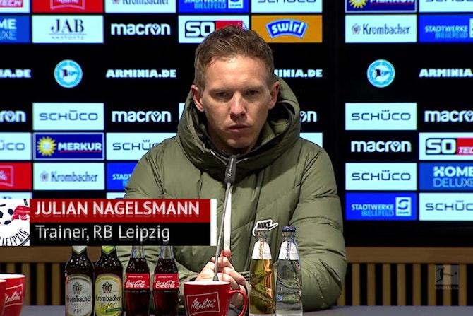 Nagelsmann: Ohne Kampl, aber mit Mut gegen Bayern