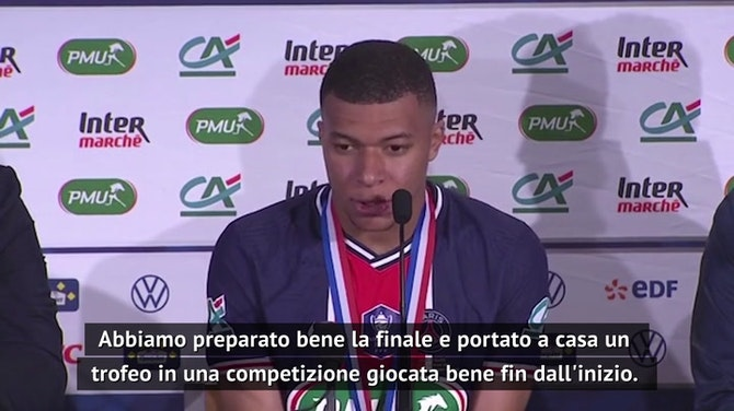 """Mbappé dopo la Coppa di Francia: """"Felice per il club"""". Parole d'addio?"""