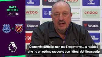 """Anteprima immagine per Benitez: """"Newcastle? Gli auguro il meglio"""""""