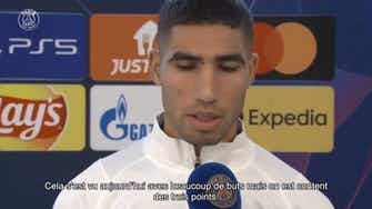 Image d'aperçu pour Hakimi: 'Un vrai match de Ligue des Champions'